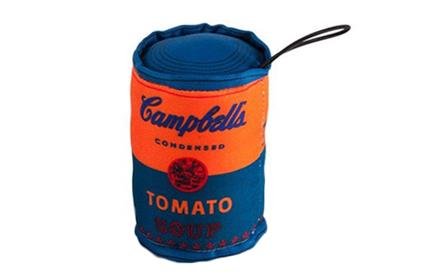 Kid Robot Blind Boxes Andy Warhol Collectible Art Plush Orange Soup Can