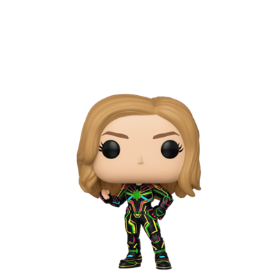 Funko Pop! Marvel Captain Marvel (wearing Neon Suit)