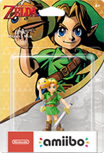Amiibo The Legend of Zelda Link (Majora's Mask) Stock