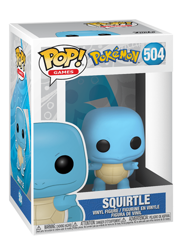 Funko Pop! Games Squirtle Stock