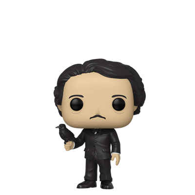 Funko Pop! Icons Edgar Allen Poe (Raven) Icon