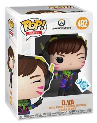 Funko Pop! Games D.VA (Funko Insider Club) Stock Thumb