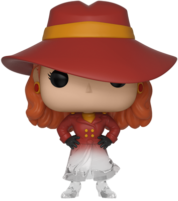 Funko Pop! Television Carmen Sandiego (Disappearing)