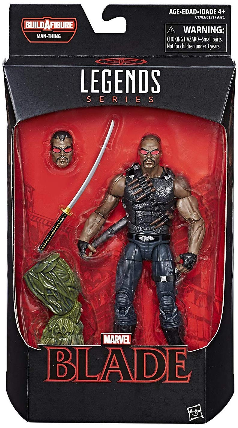 Marvel Legends Man-Thing Series Blade Icon
