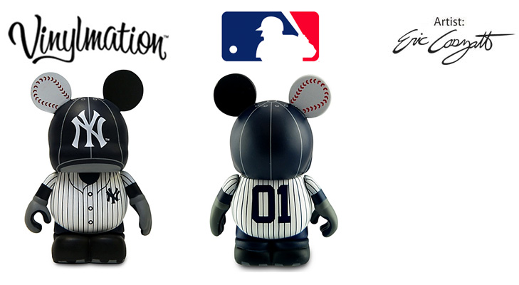 Vinylmation Open And Misc MLB New York Yankees