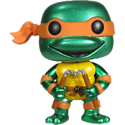 Funko Pop! Television Michelangelo (Metallic)