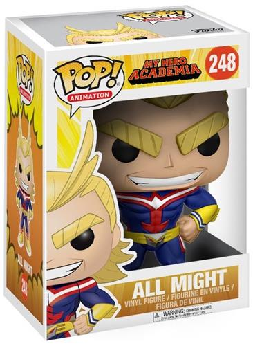 Funko Pop! Animation All Might Stock