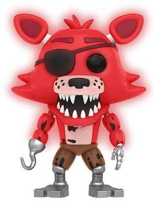 Funko Pop! Games Foxy (Pirate) - Glow