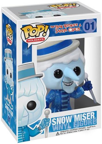 Funko Pop! Holidays Snow Miser Stock