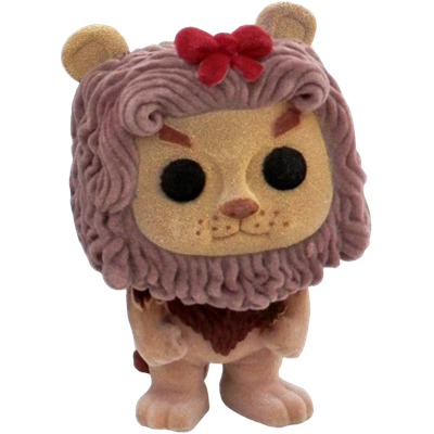 Funko Pop! Movies Cowardly Lion (Flocked) Icon