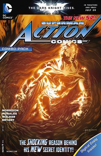 DC Comics Action Comics (2011 - 2016) Action Comics (2011) #11A Icon