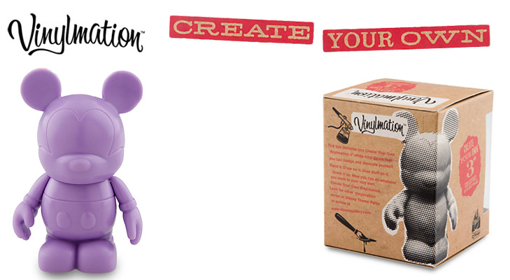 Vinylmation Open And Misc Create Your Own Purple