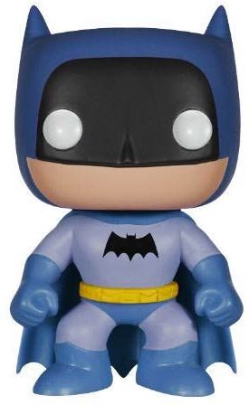 Funko Pop! Heroes Batman (Rainbow) - Blue Icon