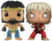 Funko Pop! Games Violent Ken & Hot Ryu