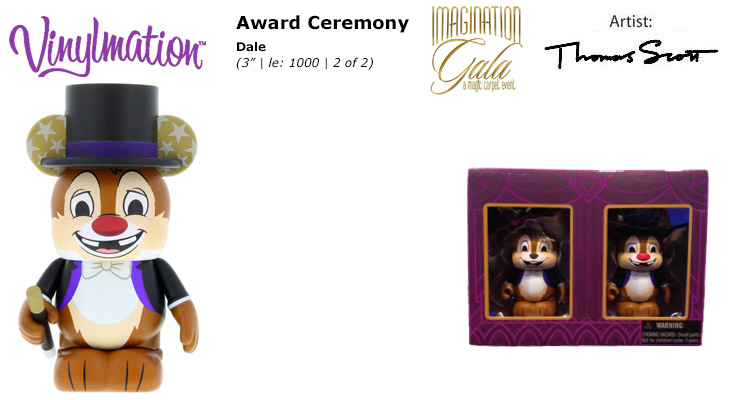 Vinylmation Open And Misc Imagination Gala Dale