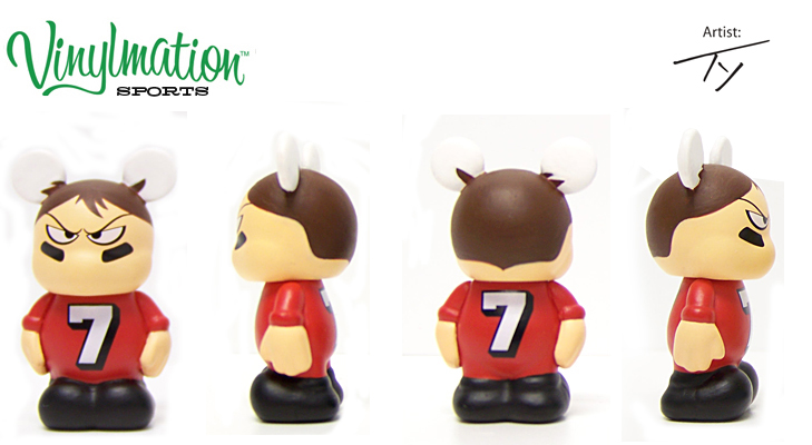 Vinylmation Open And Misc Sports Jr. Ball Player
