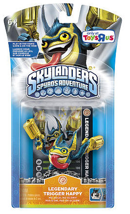 Skylanders Spyro's Adventures Legendary Trigger Happy Stock