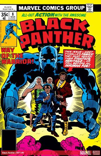 Marvel Comics Black Panther (1977 - 1979) Black Panther (1977) #8