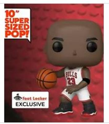 Funko Pop! Sports  Michael Jordan (white) (10 inch) Stock