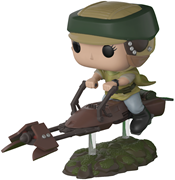 Funko Pop! Star Wars Princess Leia w/ Speeder Bike