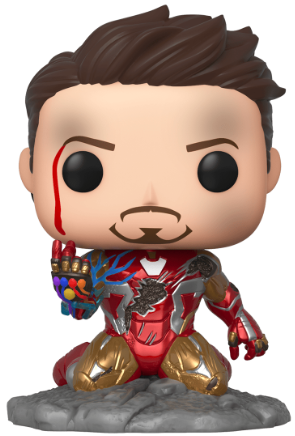 Funko Pop! Marvel Iron man (I Am Iron Man) (Metallic) (Glows in the Dark)