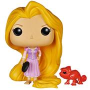 Funko Pop! Disney Rapunzel (w/ Frying Pan) & Pascal (Red)