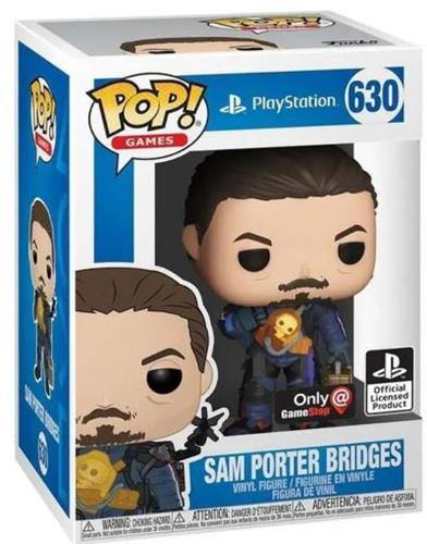 Funko Pop! Games Sam Porter Bridges Stock