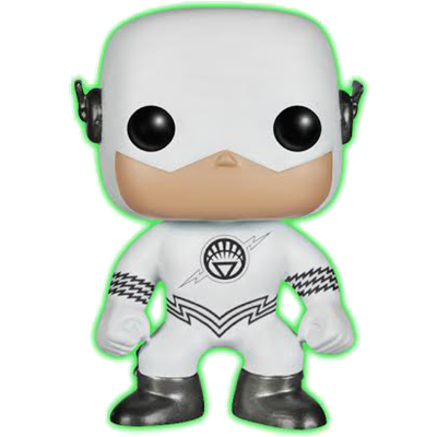 Funko Pop! Heroes The Flash (White Lantern) (Glow in the Dark)