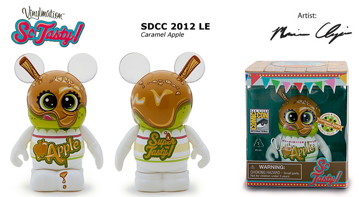 Vinylmation Open And Misc So Tasty Caramel Apple