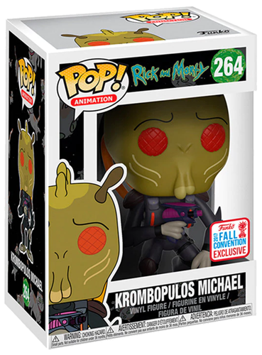 Funko Pop! Animation Krombopolus Michael Stock