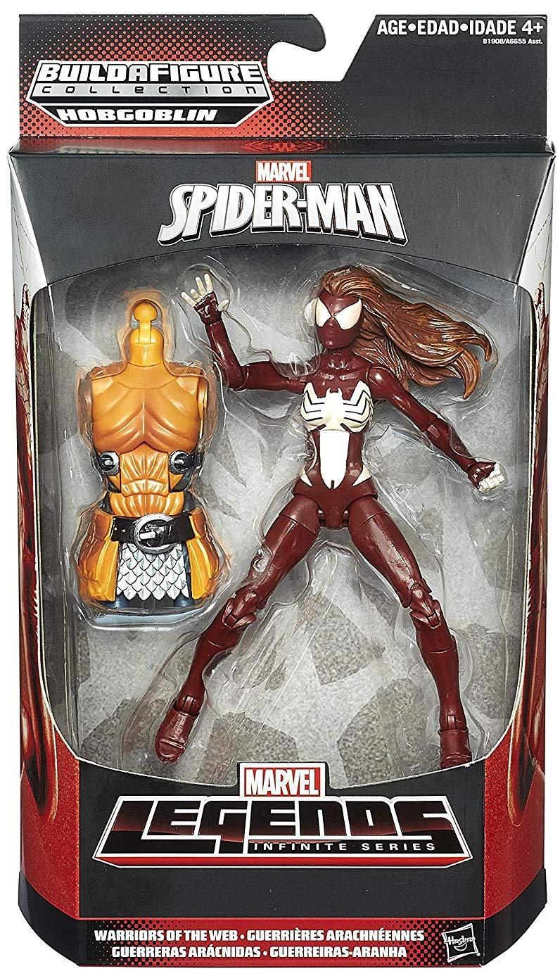 Marvel Legends Hobgoblin Series Spider-Woman