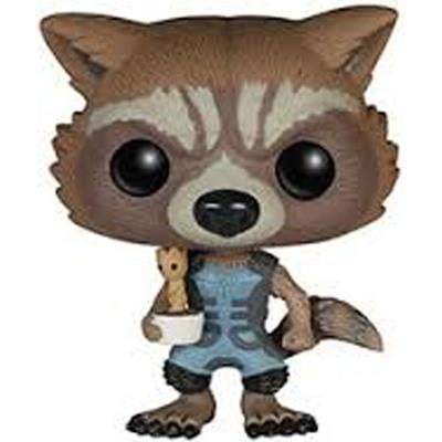 Funko Pop! Marvel Rocket Raccoon (Nova) & Potted Groot
