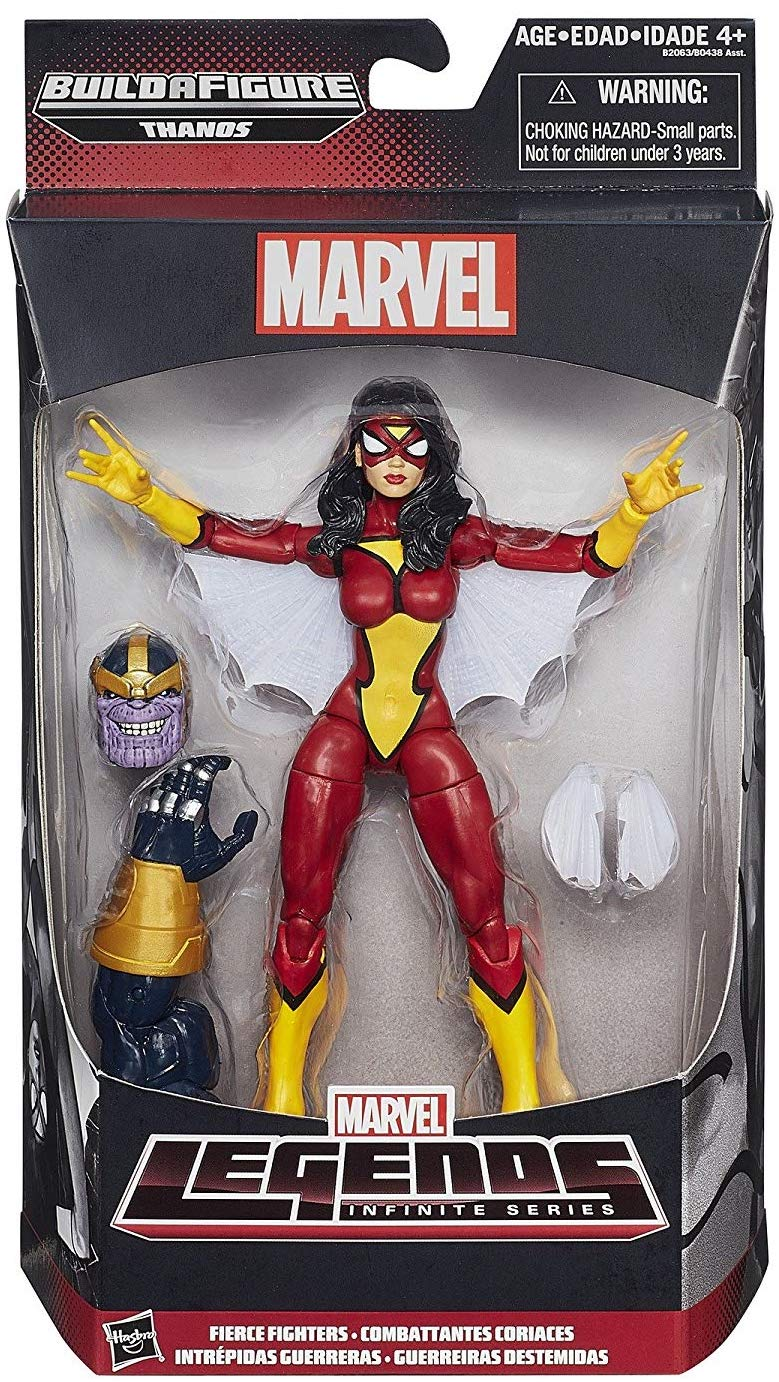 Marvel Legends Thanos Series Spider-Woman