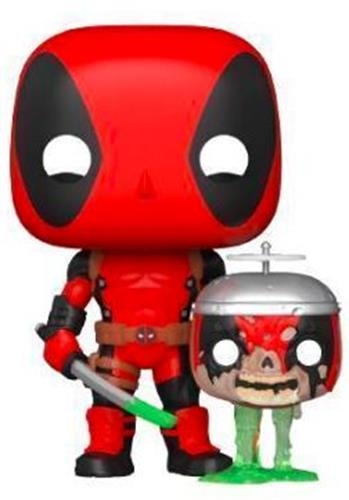 Funko Pop! Marvel Deadpool with Headpool