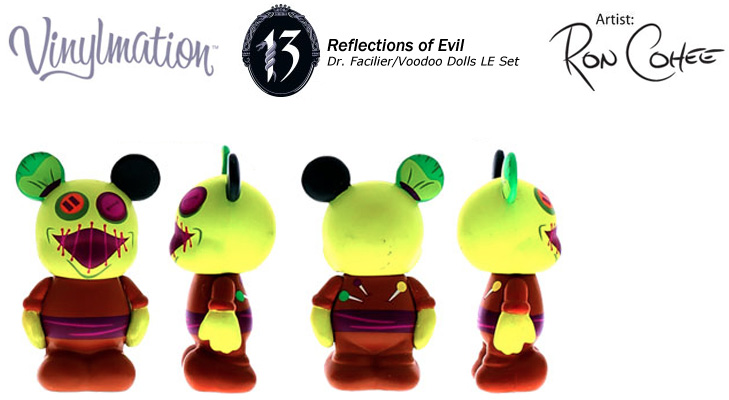 Vinylmation Open And Misc 13 Reflections of Evil Voodoo Doll 2