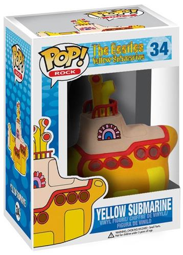 Funko Pop! Rocks Yellow Submarine Stock
