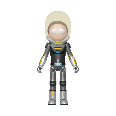 Funko Pop! Animation Space Suit Morty (Metallic) Icon