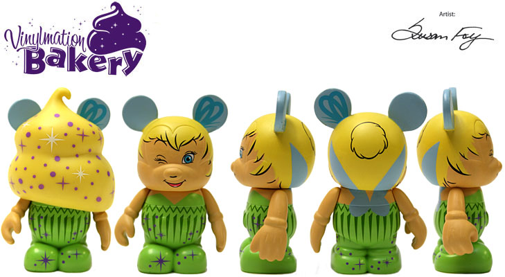 Vinylmation Open And Misc Bakery Tinker Bell Cupcake