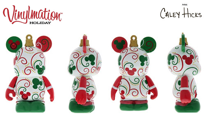Vinylmation Open And Misc Holiday White, Green, Red