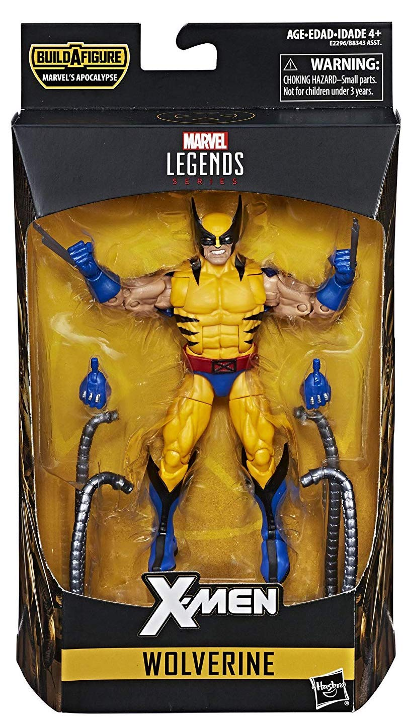 Marvel Legends Apocalypse Series Wolverine