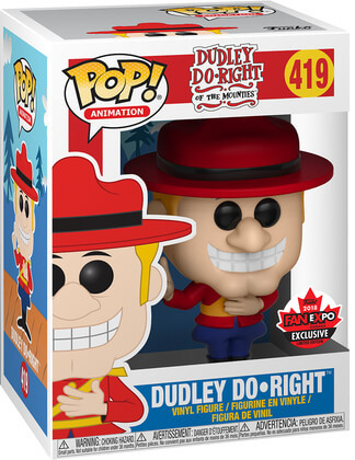 Funko Pop! Animation Dudley Do-Right Stock