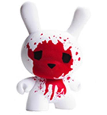"Kid Robot 8"" Dunnys Blood & Fuzz"