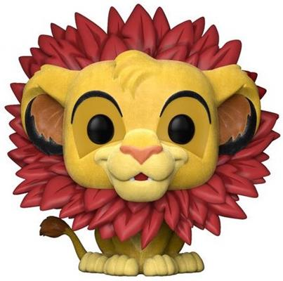 Funko Pop! Disney Simba (Leaf Mane) - Flocked