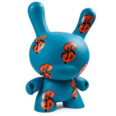 "Kid Robot 20"" Dunnys Dollar Signs Icon"