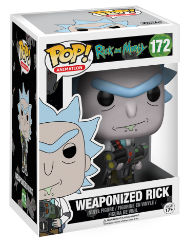 Funko Pop! Animation Rick (Weaponized) Stock