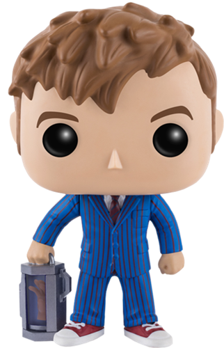 Funko Pop! Television Tenth Doctor (w/ Hand)