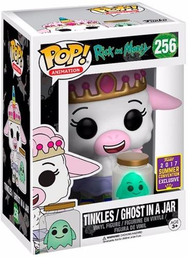 Funko Pop! Animation Tinkles & Ghost in a Jar Stock