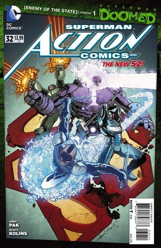 DC Comics Action Comics (2011 - 2016) Action Comics (2011) #32 Stock