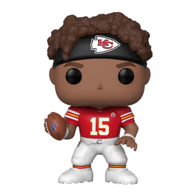 Funko Pop! Football Patrick Mahomes II (away jersey)