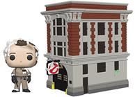 Funko Pop! Town Ghostbusters Fire Station & Venkman